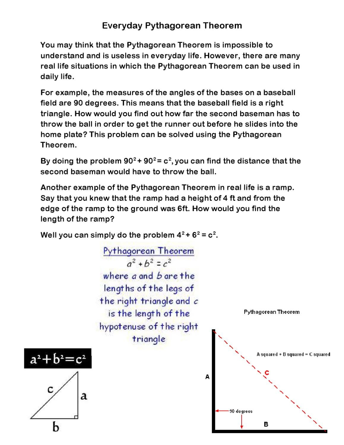 Everyday Pythagorean Theorem by Darklight Corvexus - Issuu