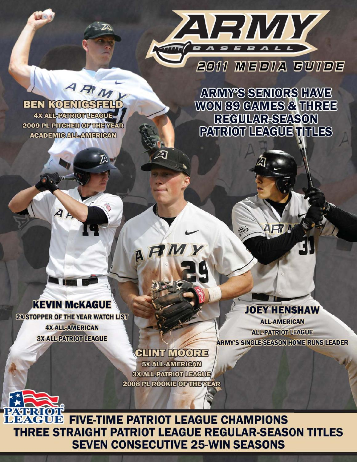 2011 Army Baseball Media Guide by Army West Point Athletics - issuu 3c5f829ca5c0