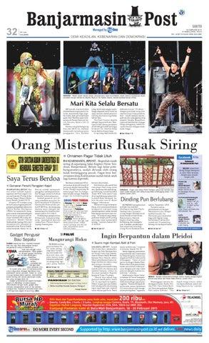 Banjarmasin Post Edisi Cetak 19 Februari 2011 by Banjarmasin Post ... 23fc261b3e