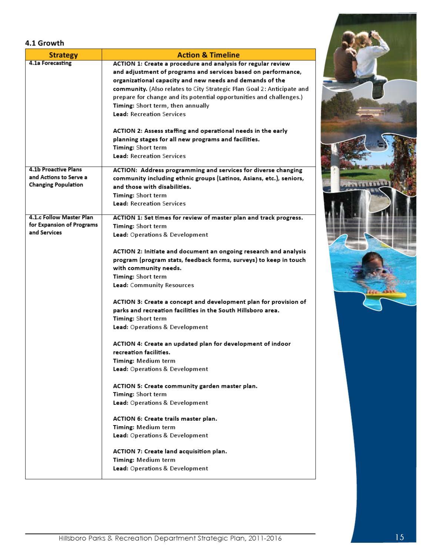 Parks Strategic Plan by Julie Nix - issuu