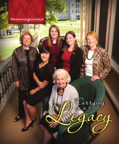 W Amp J Alumni Magazine Carrying On A Legacy By Washington