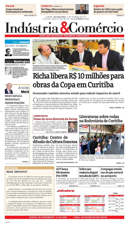 21-02-11 Indústria Comércio by Diário Indústria   Comércio - issuu 1b4f98fbd5