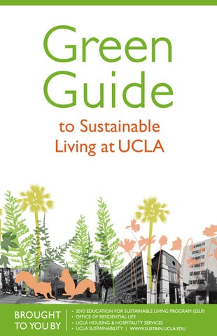 UCLA Green Guide by UCLA HHS Marketing - issuu