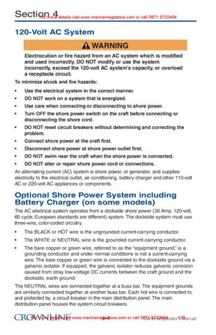 crownline owner s manual by marine mega store ltd issuu rh issuu com crownline user manual 2005 crownline owners manual