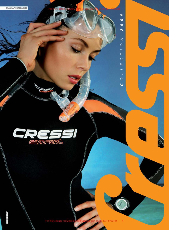 High Stretch Cressi Med X Lady 2.5 mm Muta Shorty per Donna in Neoprene Bifoderato