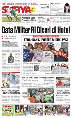 Surya Edisi 21 Februari 2011