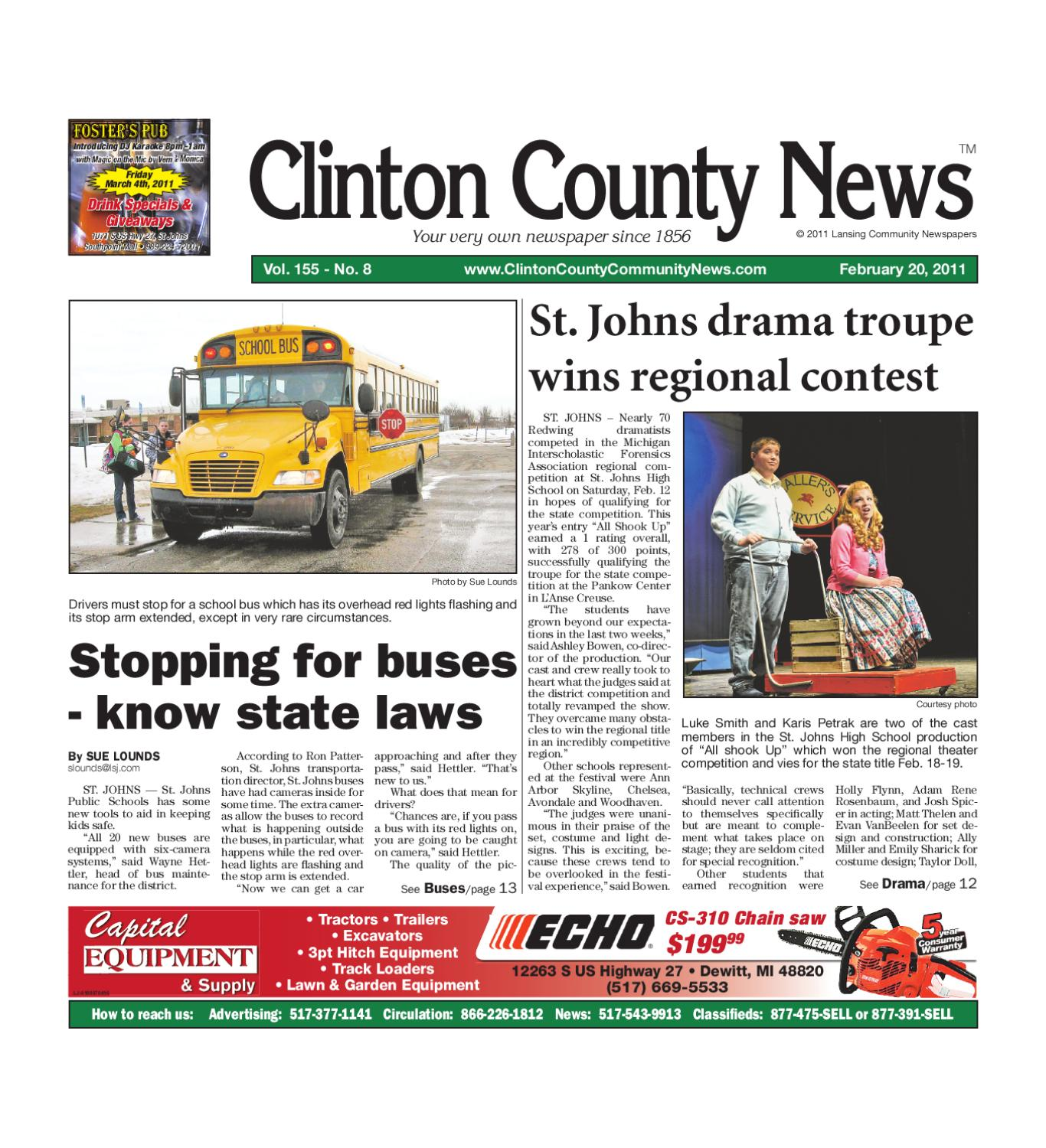 Clinton County News by Lansing State Journal issuu