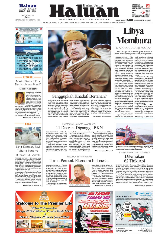 Haluan 22 Feb 2011 by Harian Haluan - issuu acdfb96825