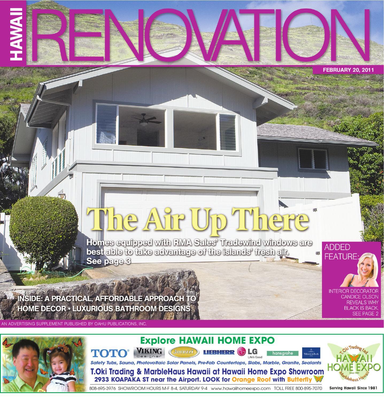Hawaii Renovation 20 February 2011 by Oahu Publications, Inc