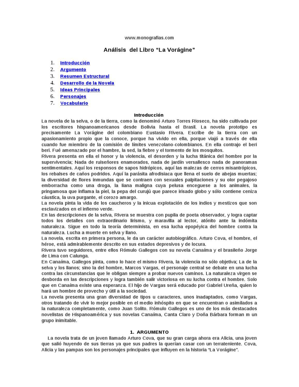 La Voragine By Javier Oliver Issuu