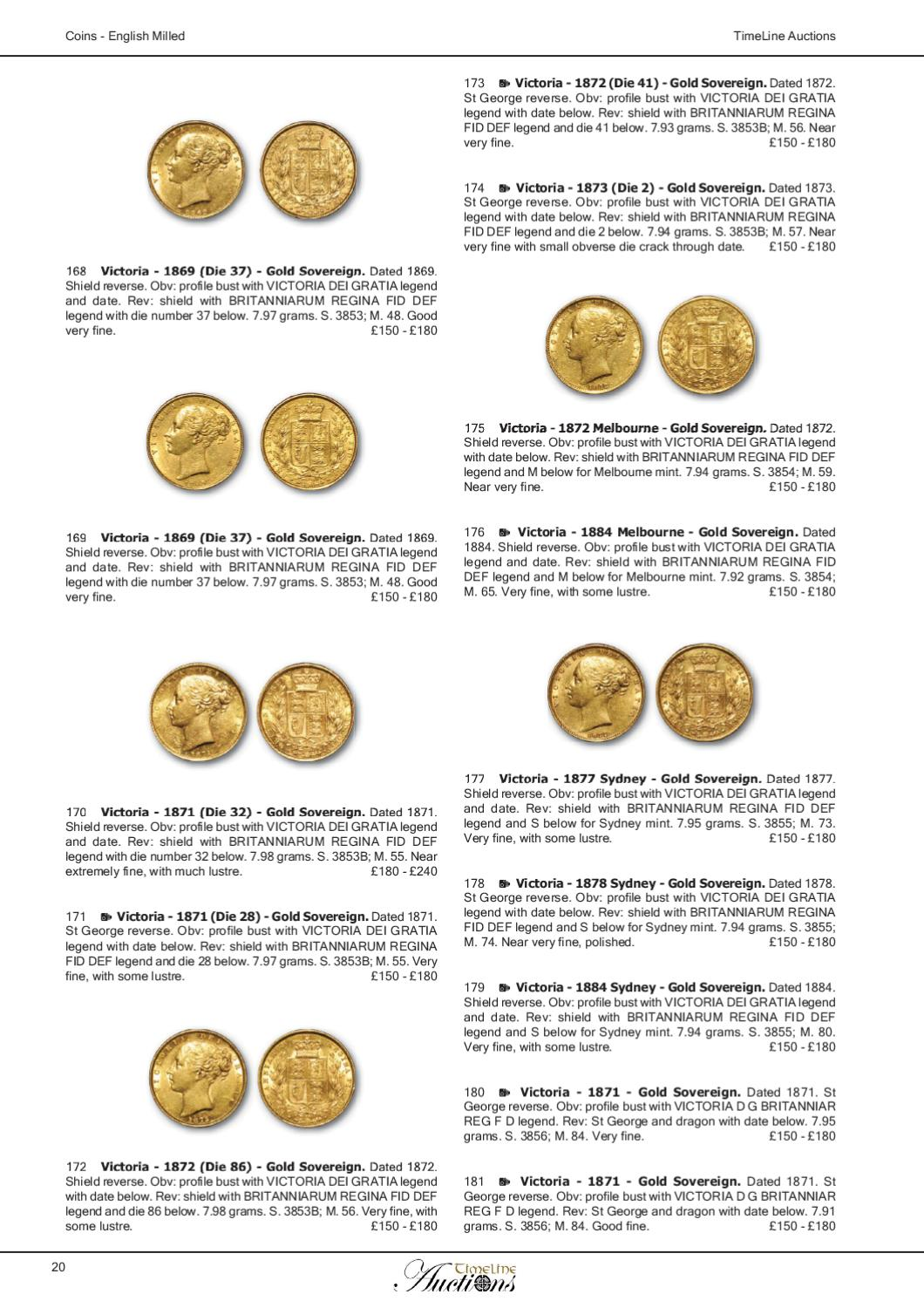 Auction Catalogue 18 March 2011 - Coins by Daniel Riddick