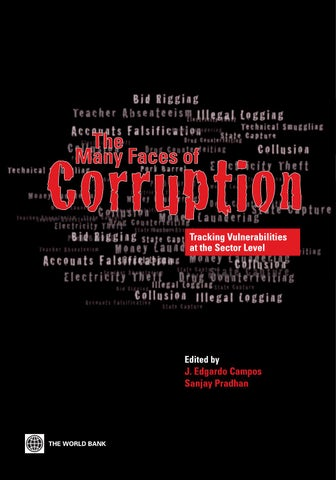 The Many Faces of Corruption: Tracking Vulnerabilities at the Sector