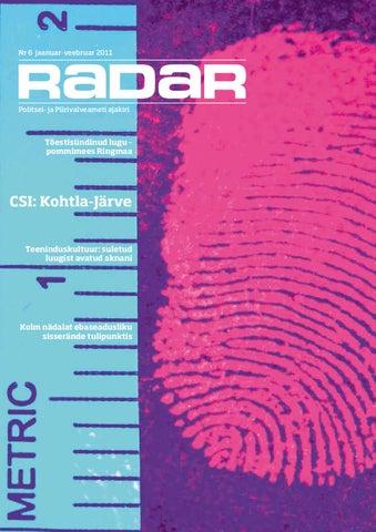 370b15070a1 RADAR 6 by Politsei- ja Piirivalveamet - issuu