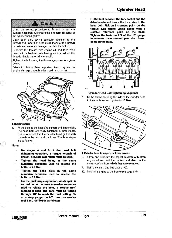 Workshop Manual Triumph Tiger 1050 by Nicolas Z - issuu