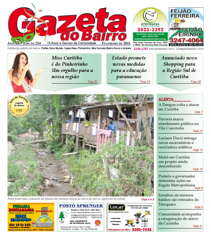 Gazeta do Bairro Fev 2011 by Gazeta do Bairro - issuu 96367ae89937
