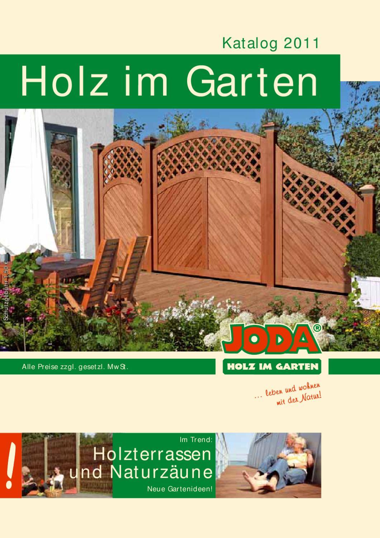 Joda Holz Im Garten Katalog 2011 By Gk Fachmarkt Issuu