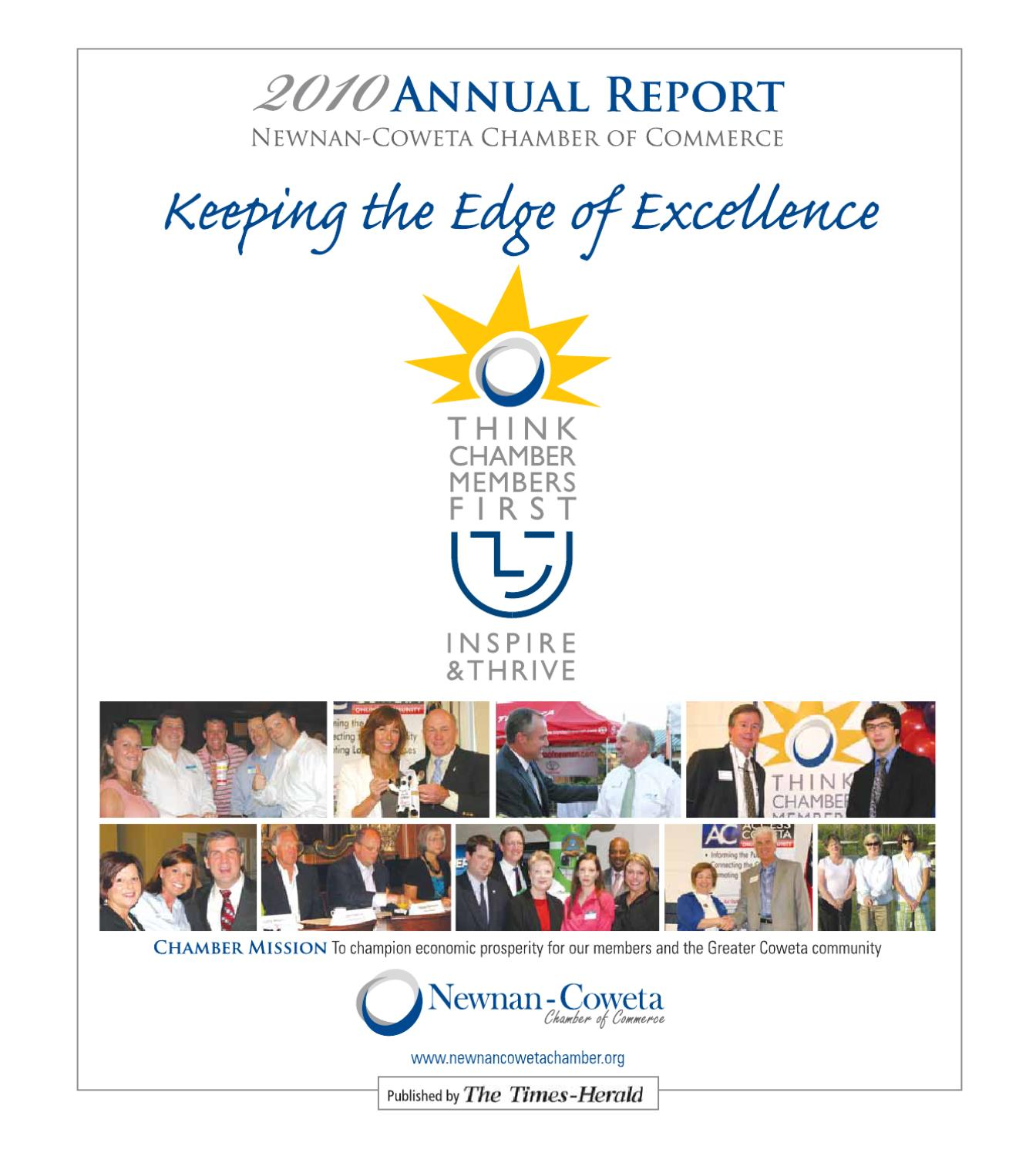 Annual chamber report 2010 by the times herald issuu kristyandbryce Image collections