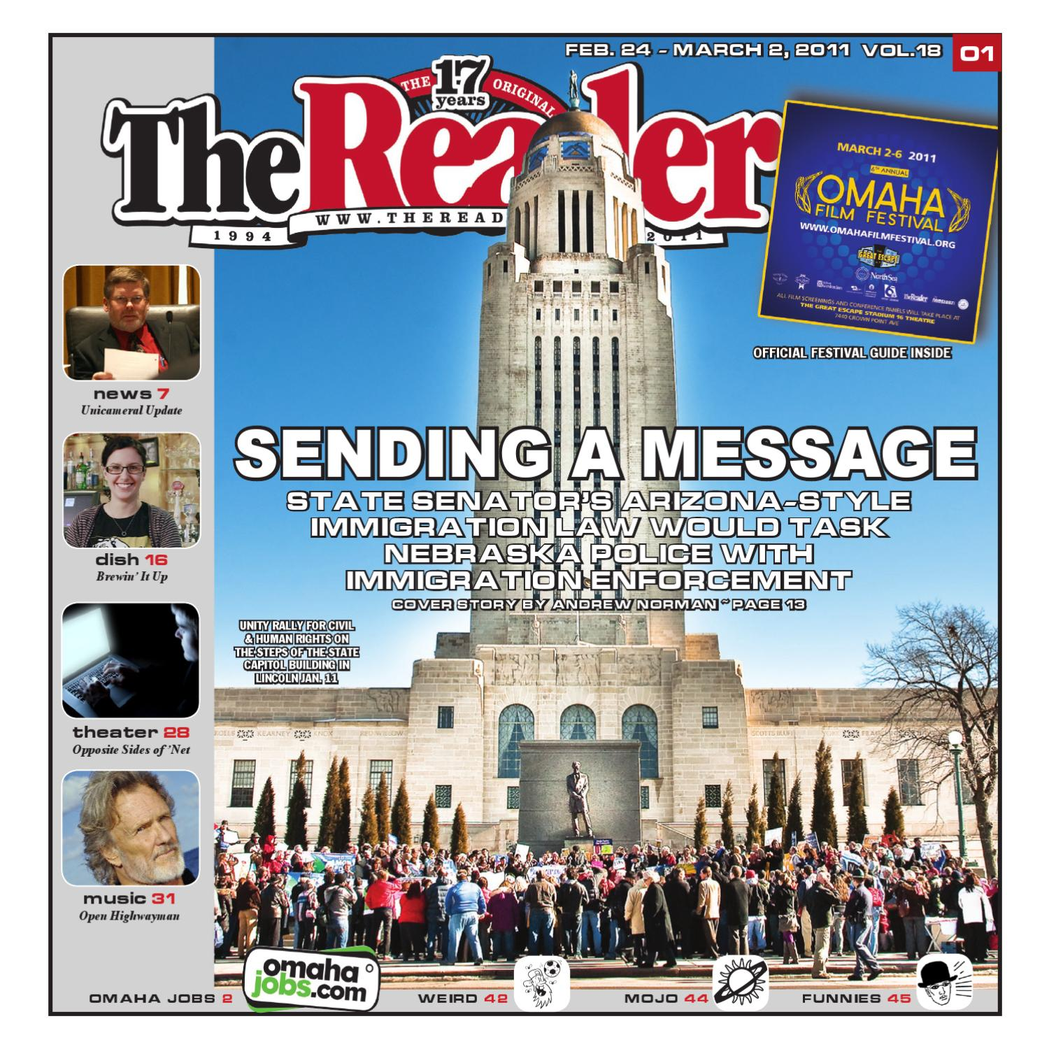 The Reader 2-24-2011 by Pioneer Publishing - issuu