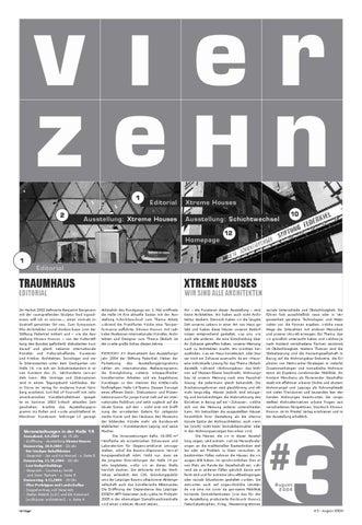 """VIERZEHN Nr. 3 """"Xtreme Houses / Schichtwechsel"""" by HALLE14 Leipzig ..."""