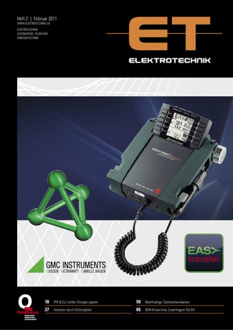 Elektrotechnik 2011/02 by Daniel Gugger - issuu