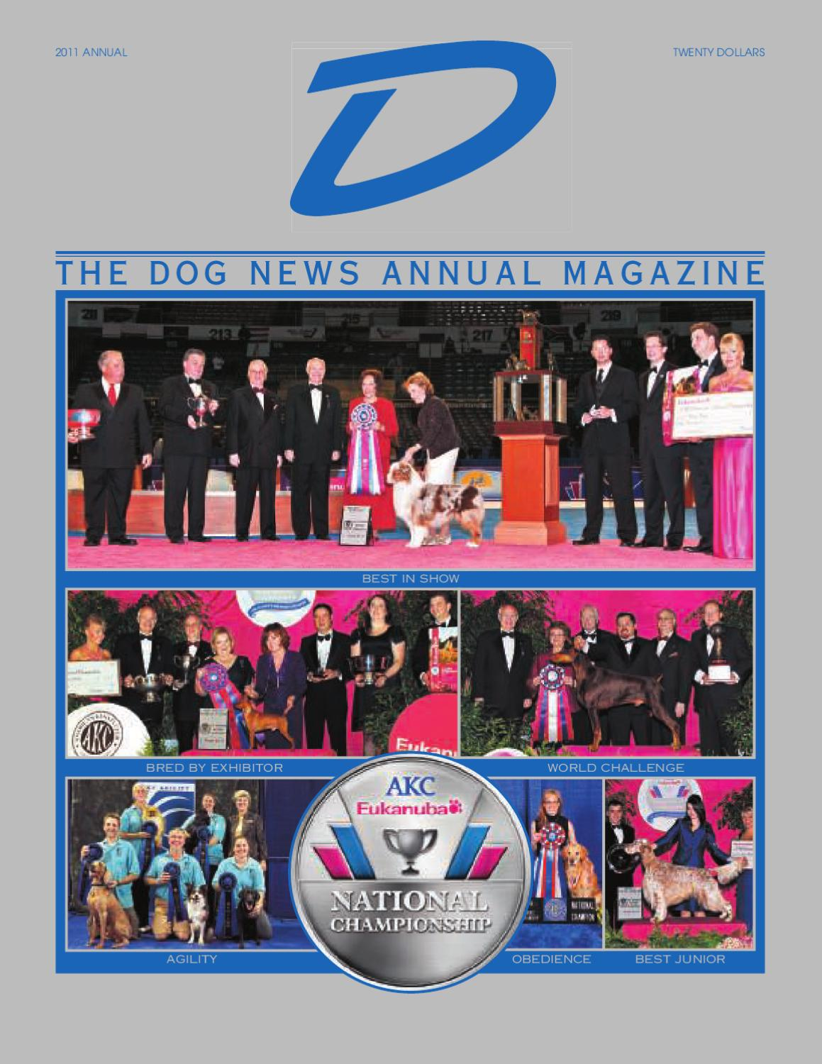 5361f76998bc D - The Dog News Annual Magazine by Dog News - issuu
