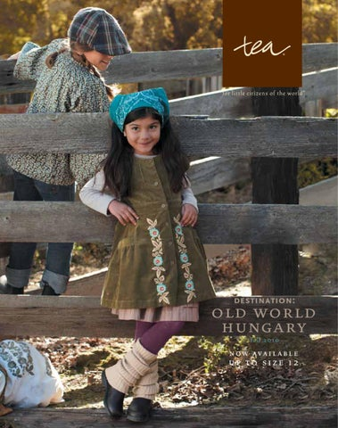 0bfc021e7dc6 Fall Kids Clothing 2010 by Tea Collection - issuu