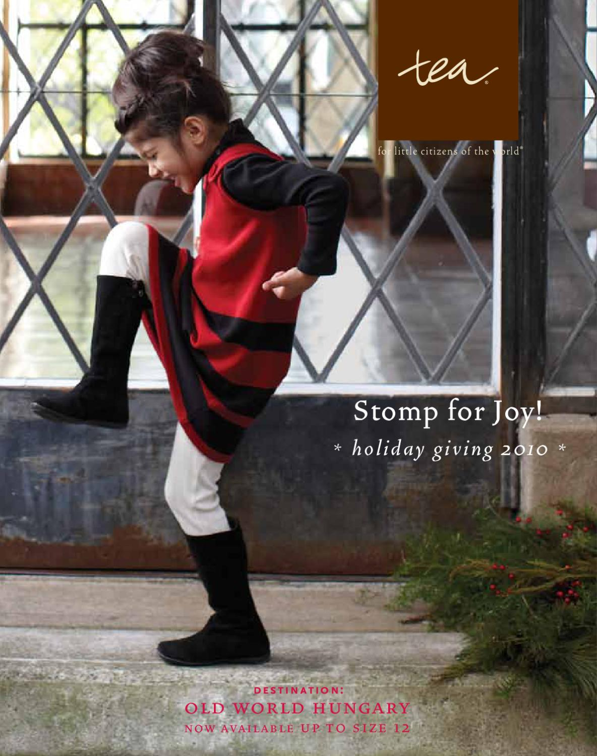 573ec3531 Tea Collection - Stomp for Joy! (Holiday Giving 2010) by Tea ...