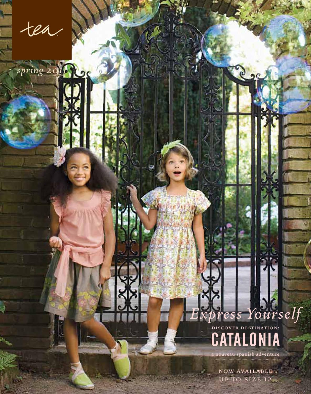 382e583e6bd0 Tea Collection - Express Yourself. Destination: Catalonia (Spring 2011) by Tea  Collection - issuu
