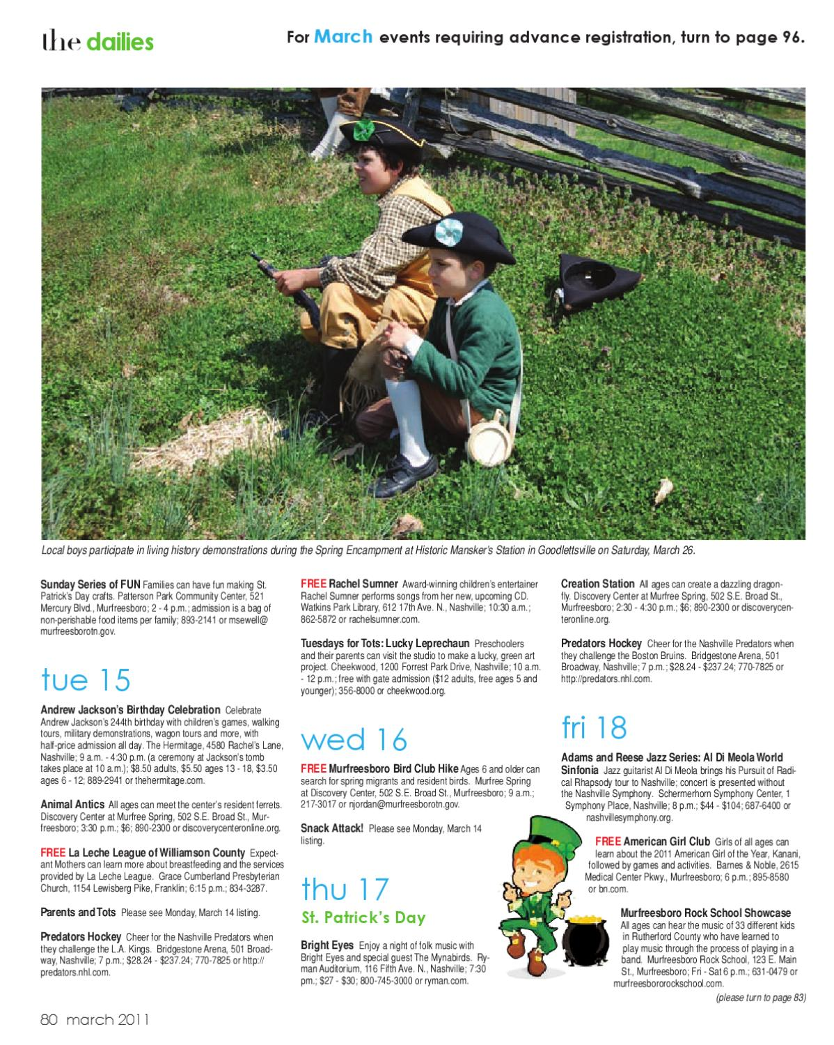 Sumner Parent Magazine - March 2011