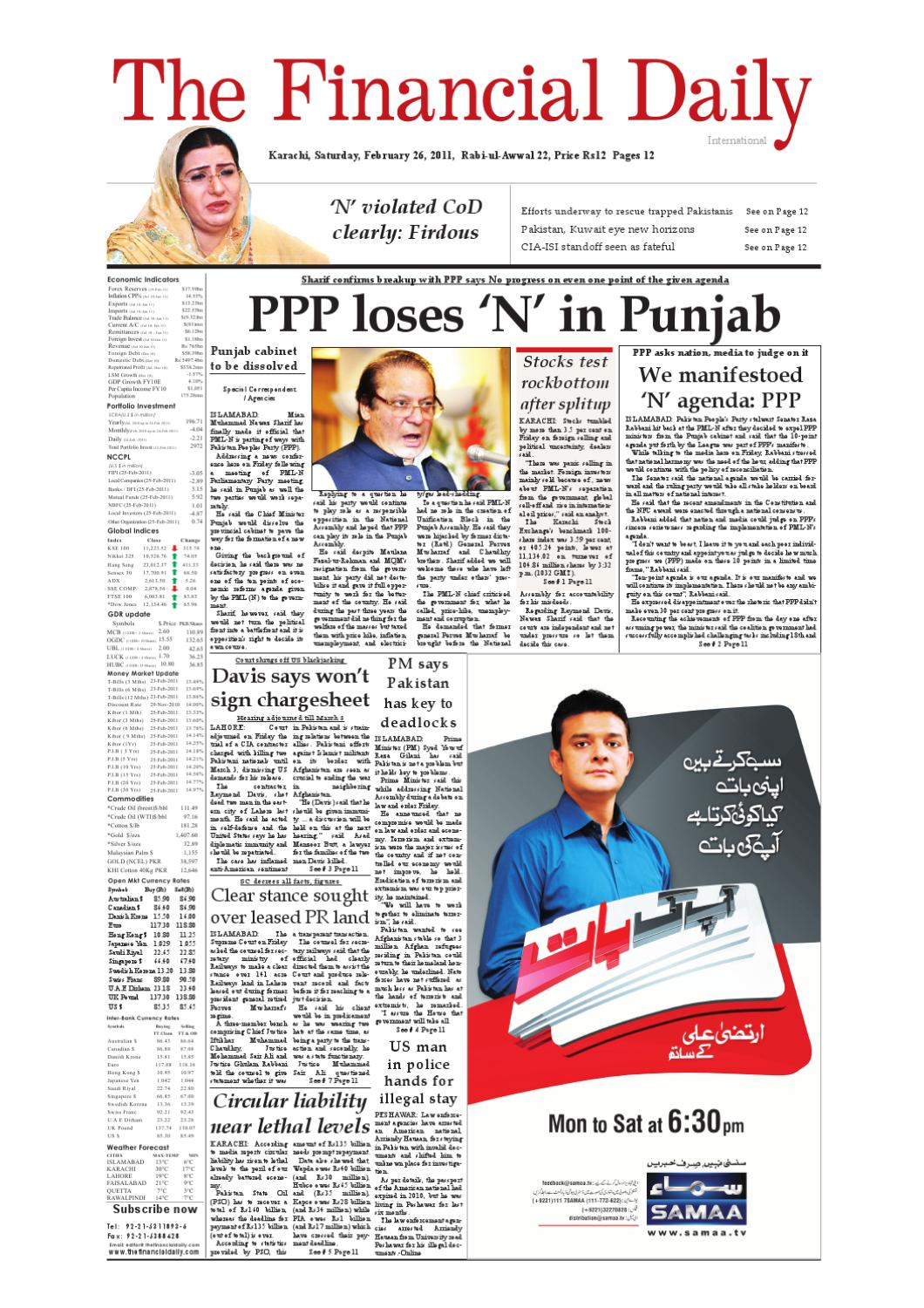 The Financial Daily-Epaper-26-02-2011 by The Financial Daily