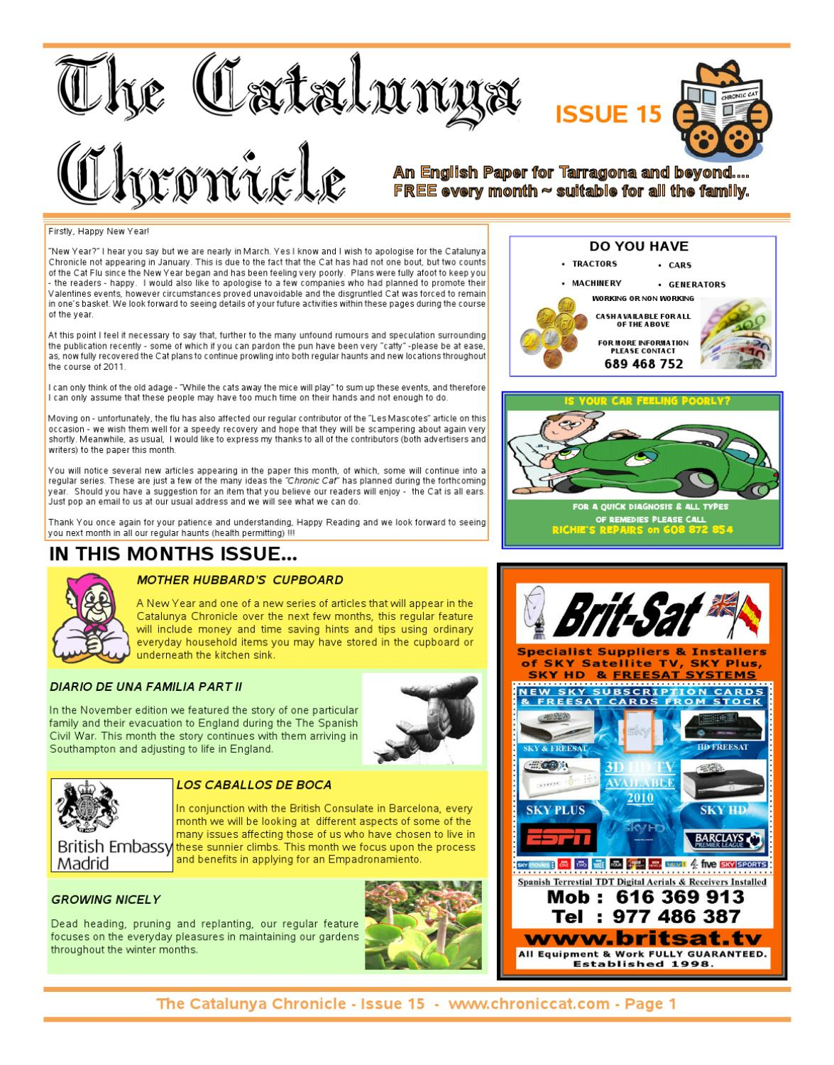 The catalunya chronicle issue 15 by catalunya chronicle issuu fandeluxe Gallery