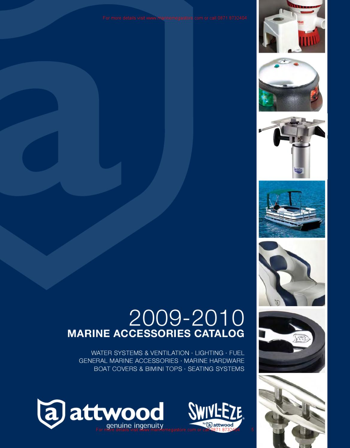 seaark 24v trolling motor wiring diagram attwood 2009 2010 marine accessories catalog by marine mega store  attwood 2009 2010 marine accessories