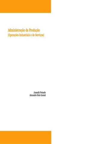 52b1b13d709ac Livro completo sobre administração da produção e operações by ...
