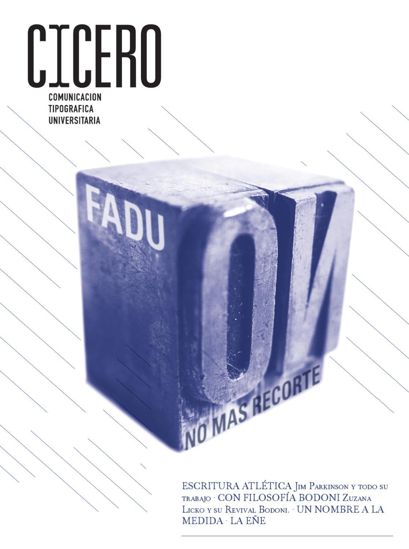 Revista Tipografia Cicero by Melisa Sua - issuu