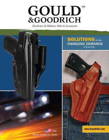 "Foam 26/"" Baton or Stinger Flashlight Holder Black Gloss Leather Gould /& Goodrich"