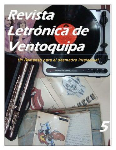 fd033a0d09592 Revista L etrón ica d e Ven toquipa Un Remanso para el desmadre Intelectual