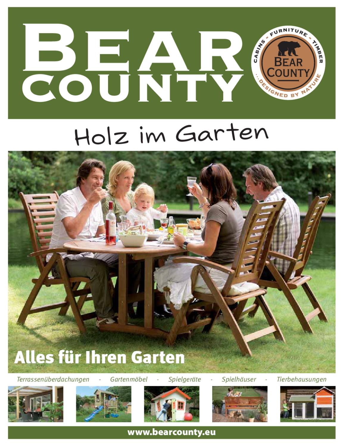 bear county holz im garten 2011 by gk fachmarkt issuu. Black Bedroom Furniture Sets. Home Design Ideas
