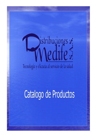 Medife - Catalogo de productos by Jhon David - issuu