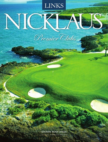 dc945137a86e A Golden Eighteen - A Showcase of Legendary Clubs designed by Jack Nicklaus  by Legendary Publishing   Media Group