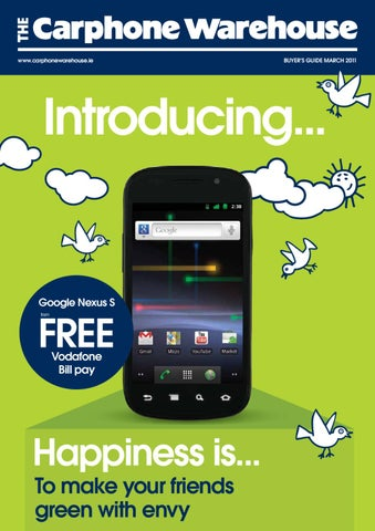 c75846374b4 The Carphone Warehouse Buyer's Guide - March 2011 by The Carphone ...