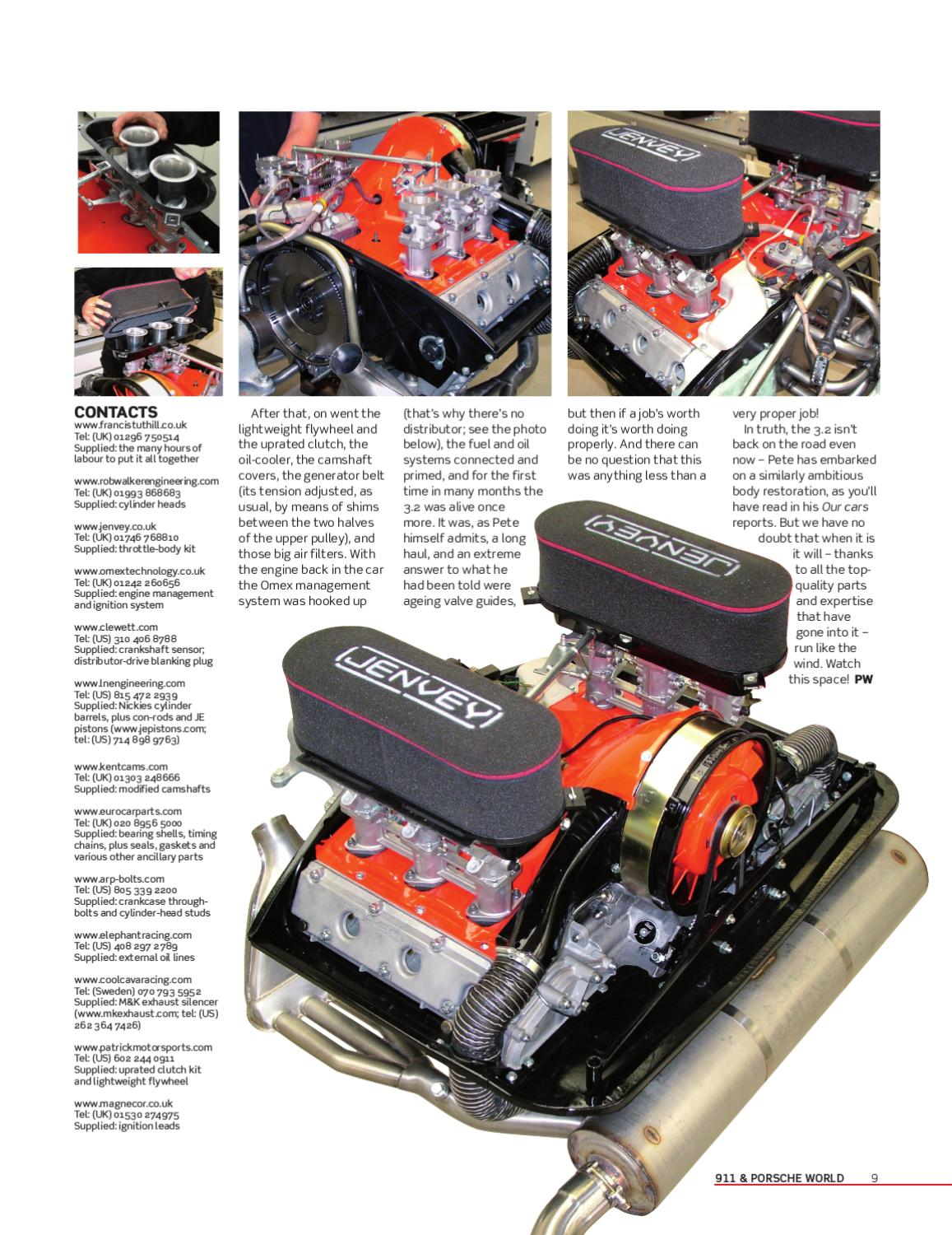911 3 2 To 3 4 Engine Build By Peter Simpson Issuu