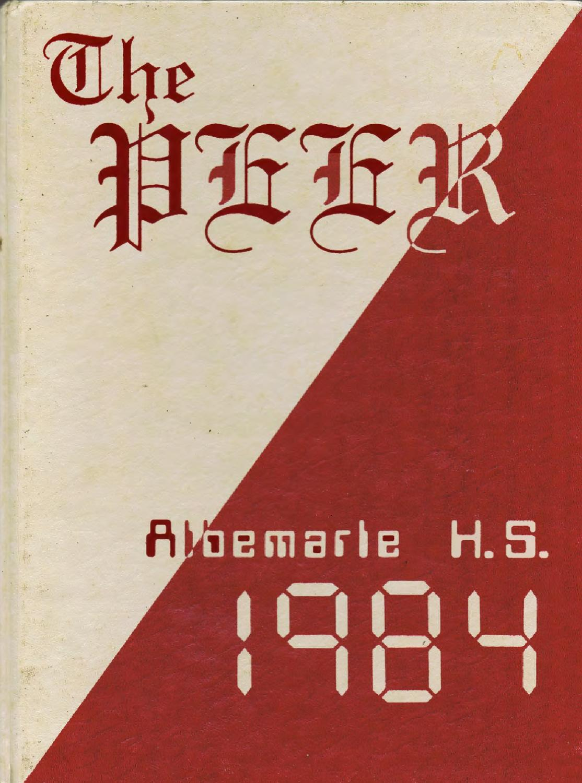 1984 Peer Albemarle High School By Stan Maupin Issuu Arlo Coffee Men Cokelat Tua 42