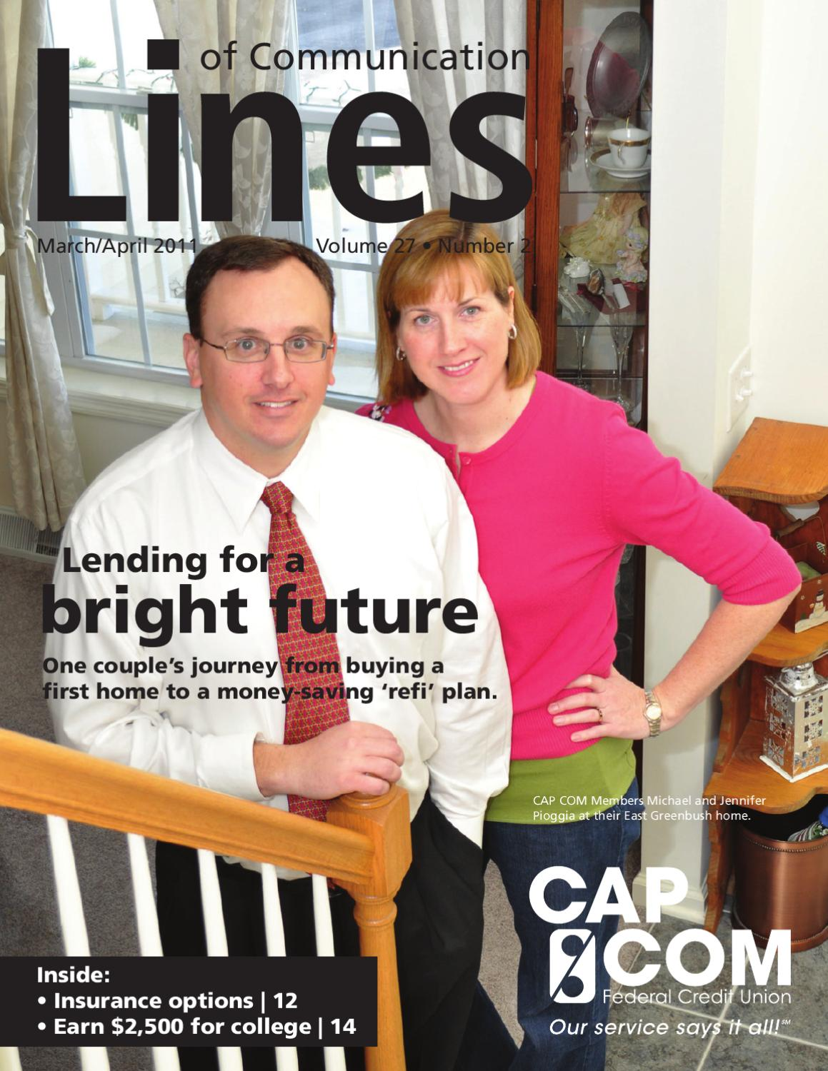 March_April_2011 by CAP COM Federal Credit Union - issuu