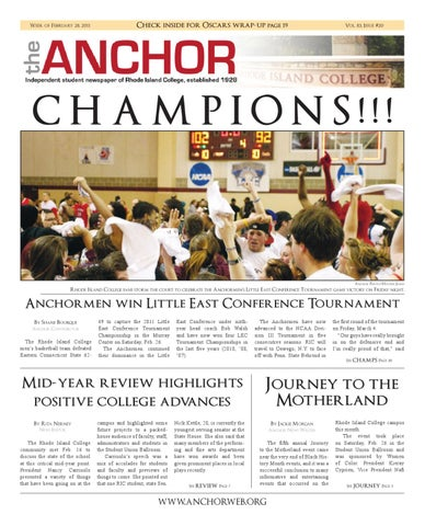 The Anchor 3111 By The Anchor Issuu