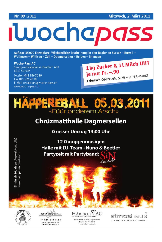 Woche-Pass   KW 09   02. März 2011 by Woche-Pass AG - issuu