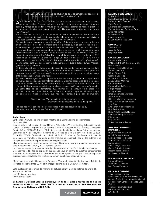 Fanzine 3D2 No. 15 www.3d2.com.mx by Fabian Luna - issuu 25985b1a188