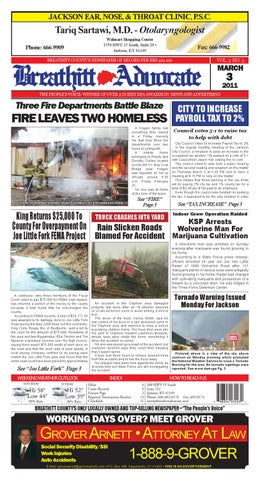Breathitt Advocate March 3 Edition by Breathitt Advocate - issuu