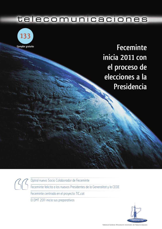 Revista Telecomunicaciones N 133 By Feceminte Revista  # Muebles Xpress Vilanova I La Geltru