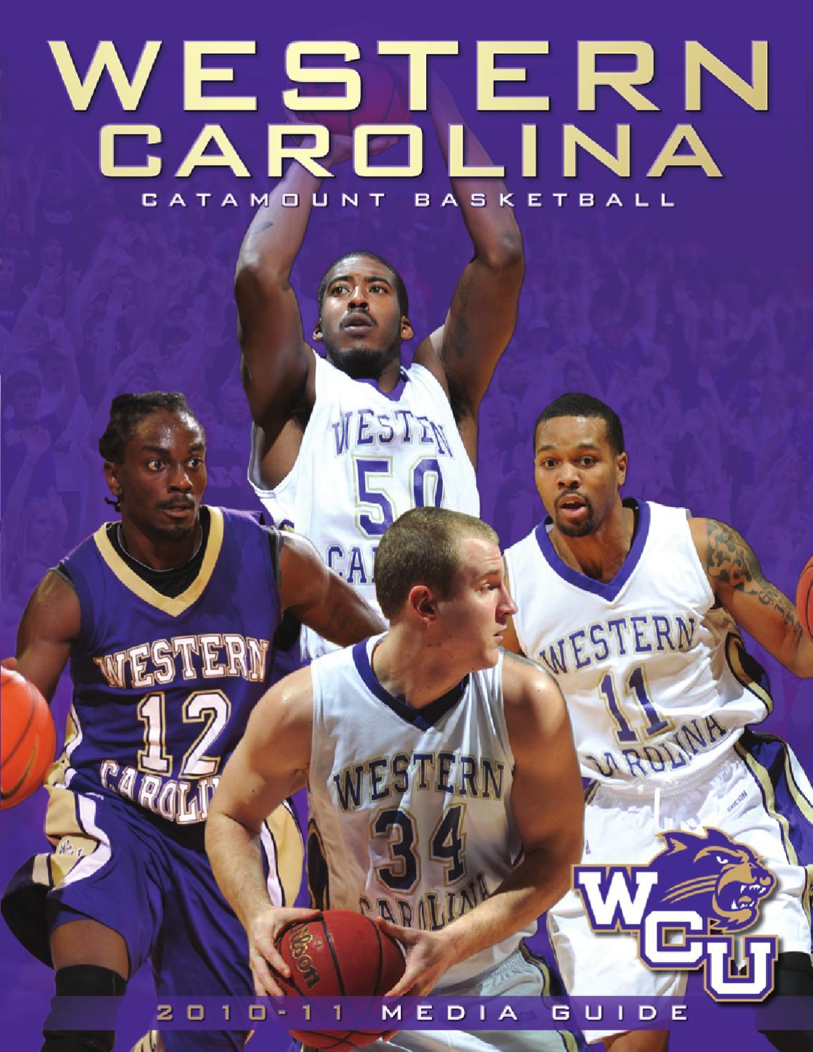 sale retailer bbc83 19708 2010-11 Catamount Men s Basketball Guide by Western Carolina University  Athletics - issuu