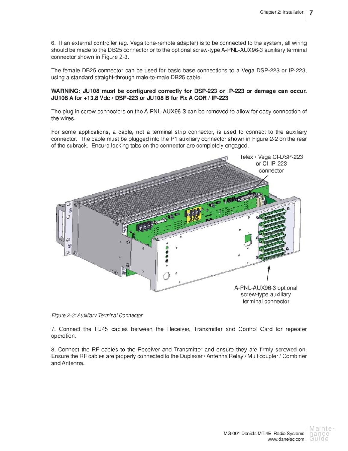 Mt 4e Analog And P25 Digital Radio Systems Maintenance Guide By Pete Straight Through Cable Wiring Scheme Lunness Issuu